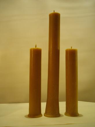 Свечи из 100% натурального пчелиного воска