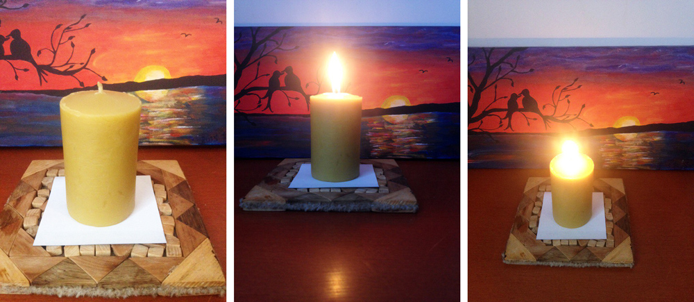 buy handmade beeswax candle